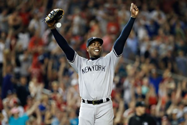 Yankees activate Aroldis Chapman from DL