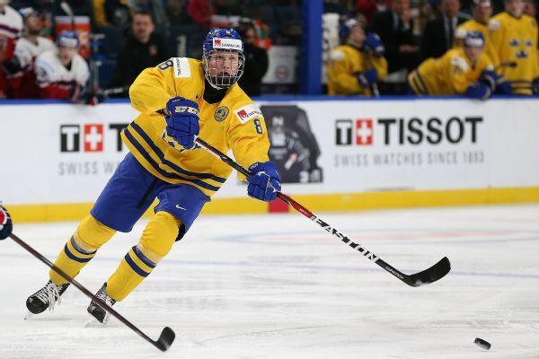 Sabres select Swedish defenseman Rasmus Dahlin first overall pick