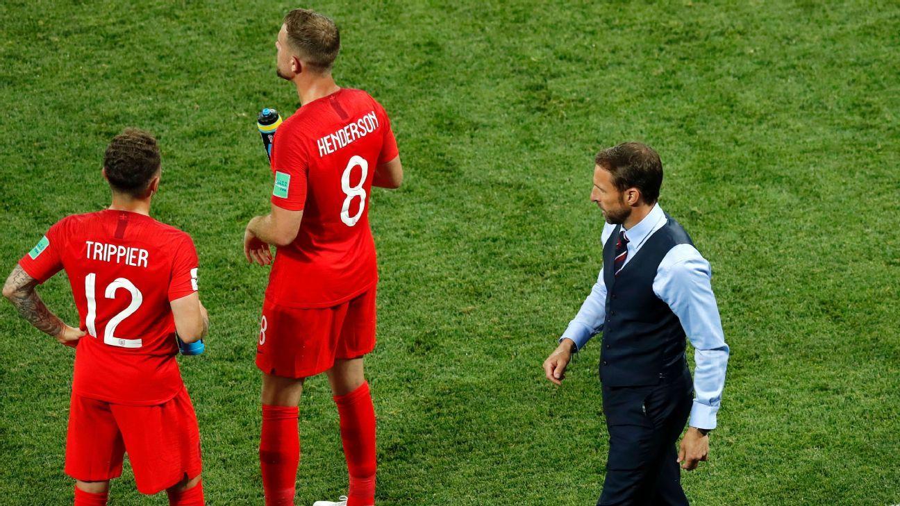 Inglaterra busca su propia versión de 'futbol feliz' en Rusia 2018