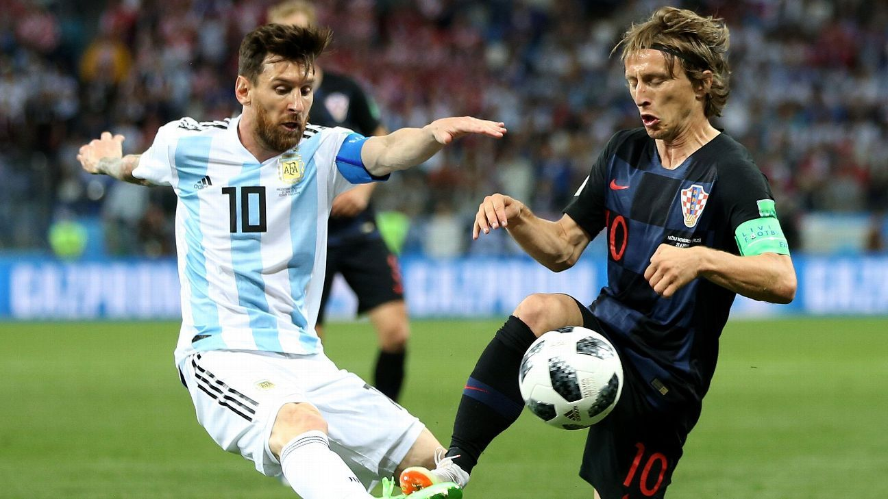 Modric descarta compartir cancha con Messi