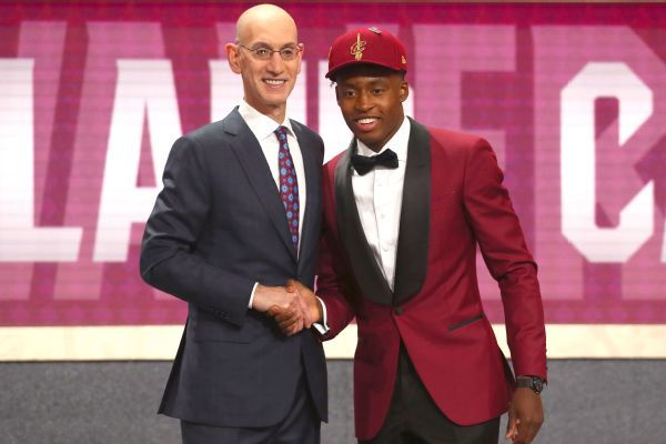 Cavaliers draftee Collin Sexton: No pressure to fill Kyrie Irving's shoes