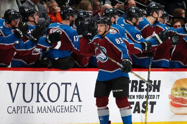 Avalanche agree with forward Matt Nieto on new two-year deal