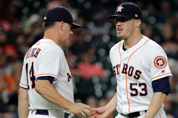 Former Astros closer Ken Giles criticizes culture in Houston, draws response from A.J. Hinch