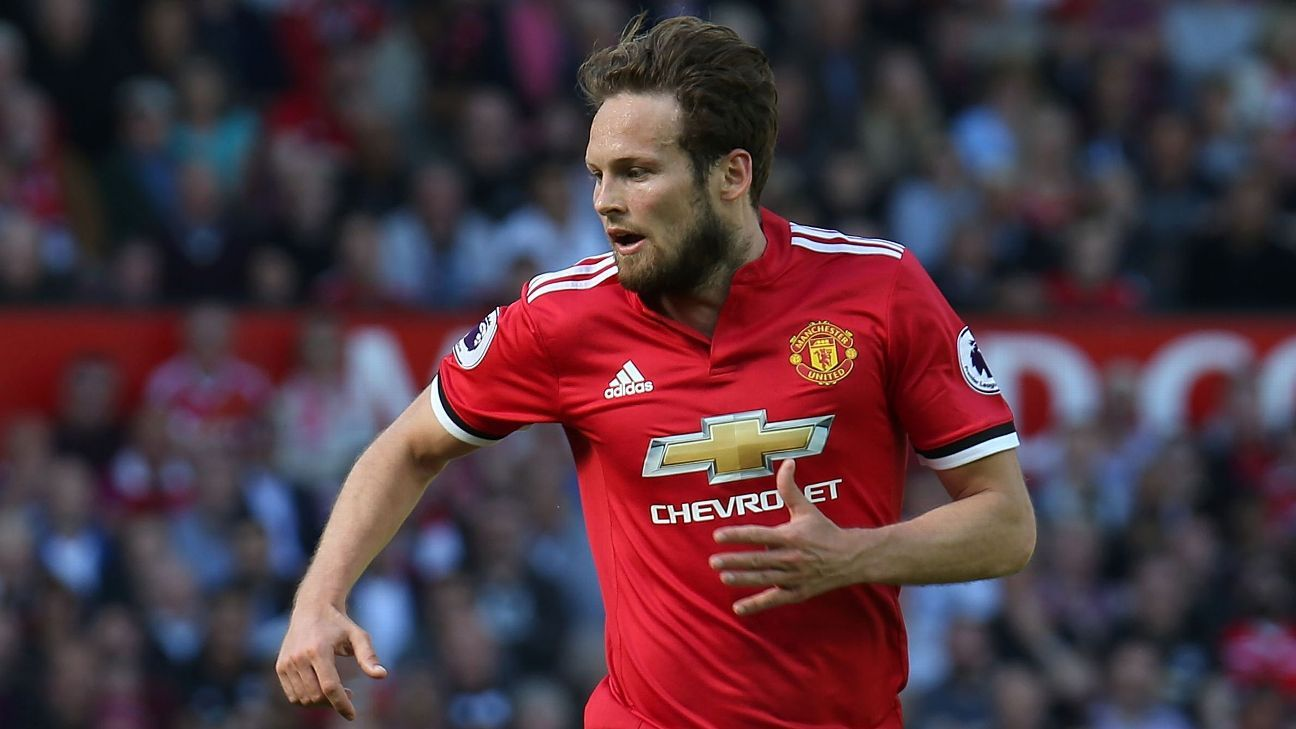 Manchester United leave Daley Blind out of U.S. tour ahead of Ajax return - sources
