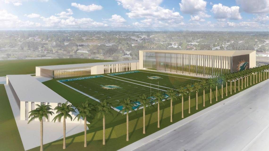 Los Miami Dolphins ya piensan en nuevas instalaciones