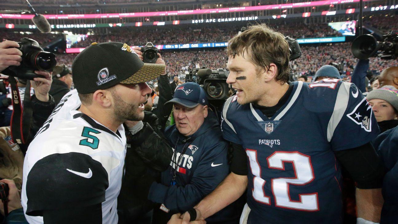 Blake Bortles toma como ejemplo financiero a Tom Brady