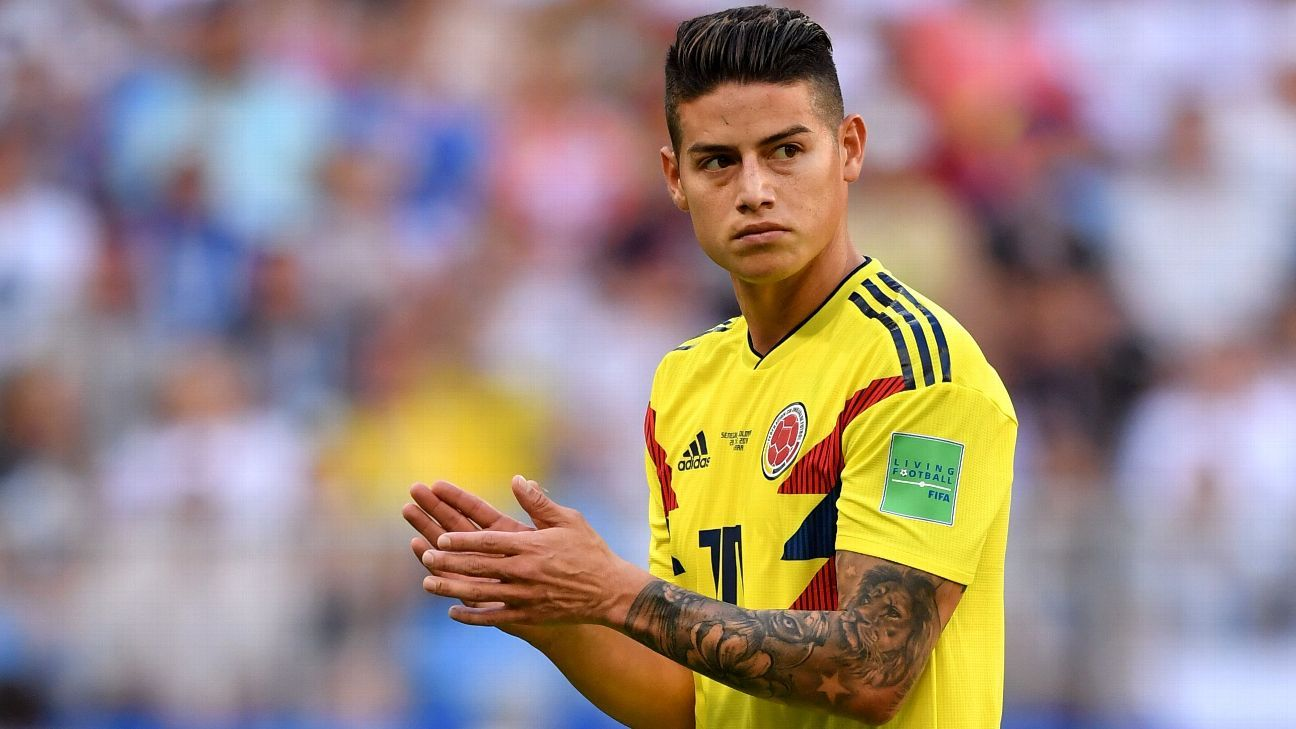 James Rodriguez won't end loan early for Real Madrid return - agency
