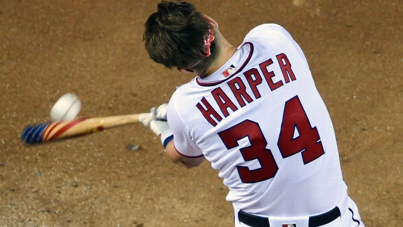 Triunfo de Harper en HR Derby da boletos de $1 a afición de Nat's