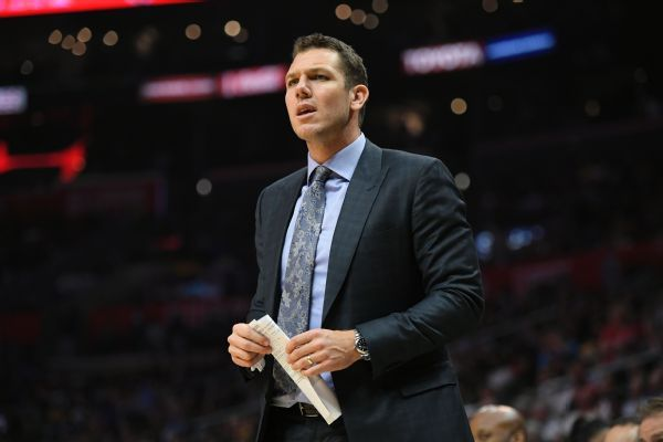 Lakers' Luke Walton critical of NBA officiating: 'It's not right'