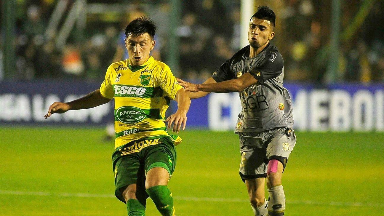 Sudamericana: El Defensa de Beccacece ganó