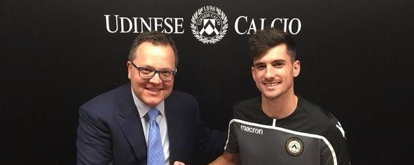 Ignacio Pussetto fue oficializado en Udinese