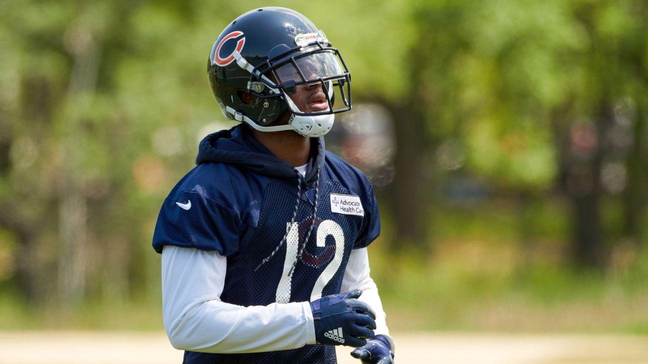 Chicago Bears apuestan por la salud del receptor Allen Robinson