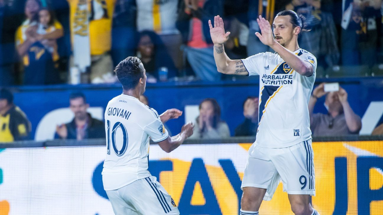 Ibrahimovic, MLS Player of the Week after signing triplet and two assists