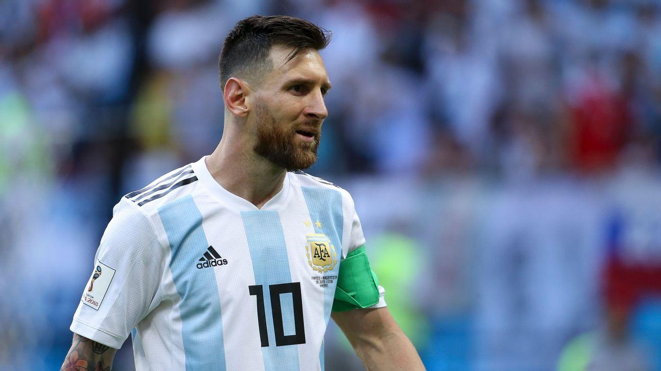 Messi, descartado para amistosos con Irak y Brasil