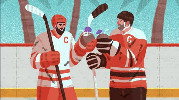 Hockey players' love affair with coconut water