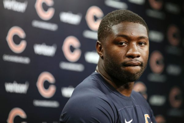 Roquan Smith participates in his first Bears practice
