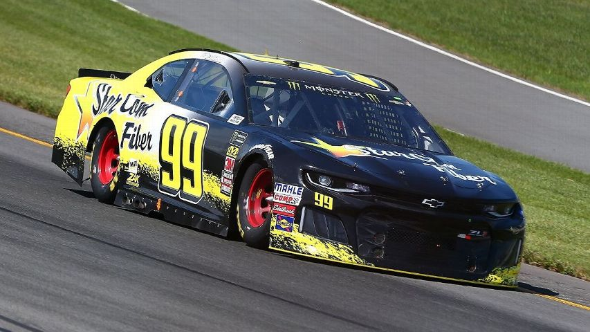 Kyle Weatherman Drives The 99 StarCom Fiber Chevy During Monster Energy NASCAR Cup Series