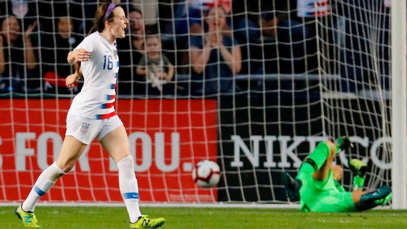 85d802978d0 Rose Lavelle is worth the wait as U.S. women beat Brazil to win ...