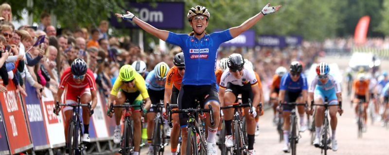 European Championships - Marta Bastianelli sprints to road