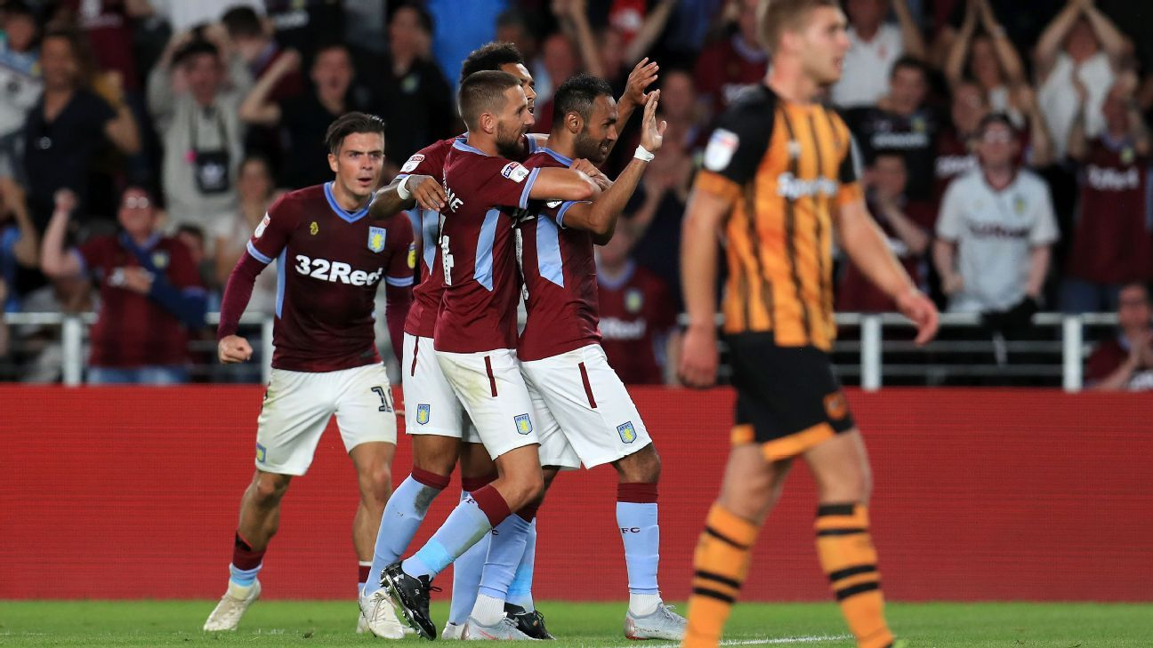 Fine Alan Hutton goal caps Aston Villa recovery in win at Hull