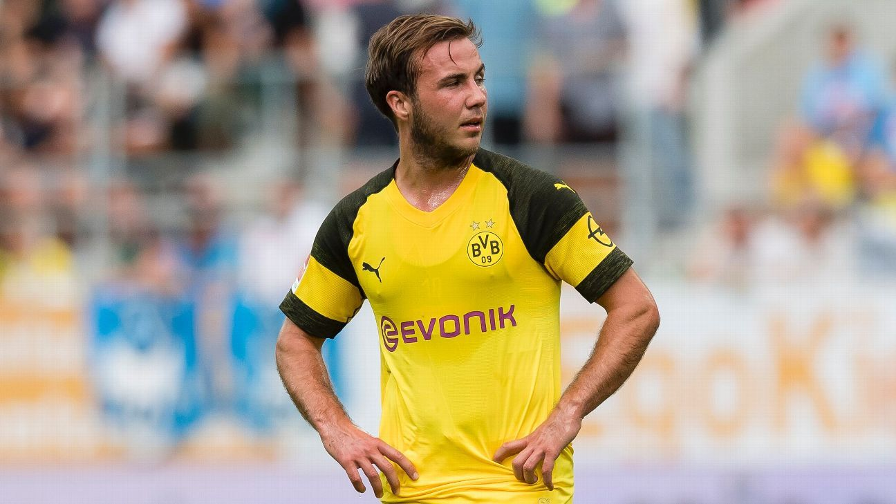 Borussia Dortmund's Mario Gotze advised to join Liverpool after Bundesliga axe