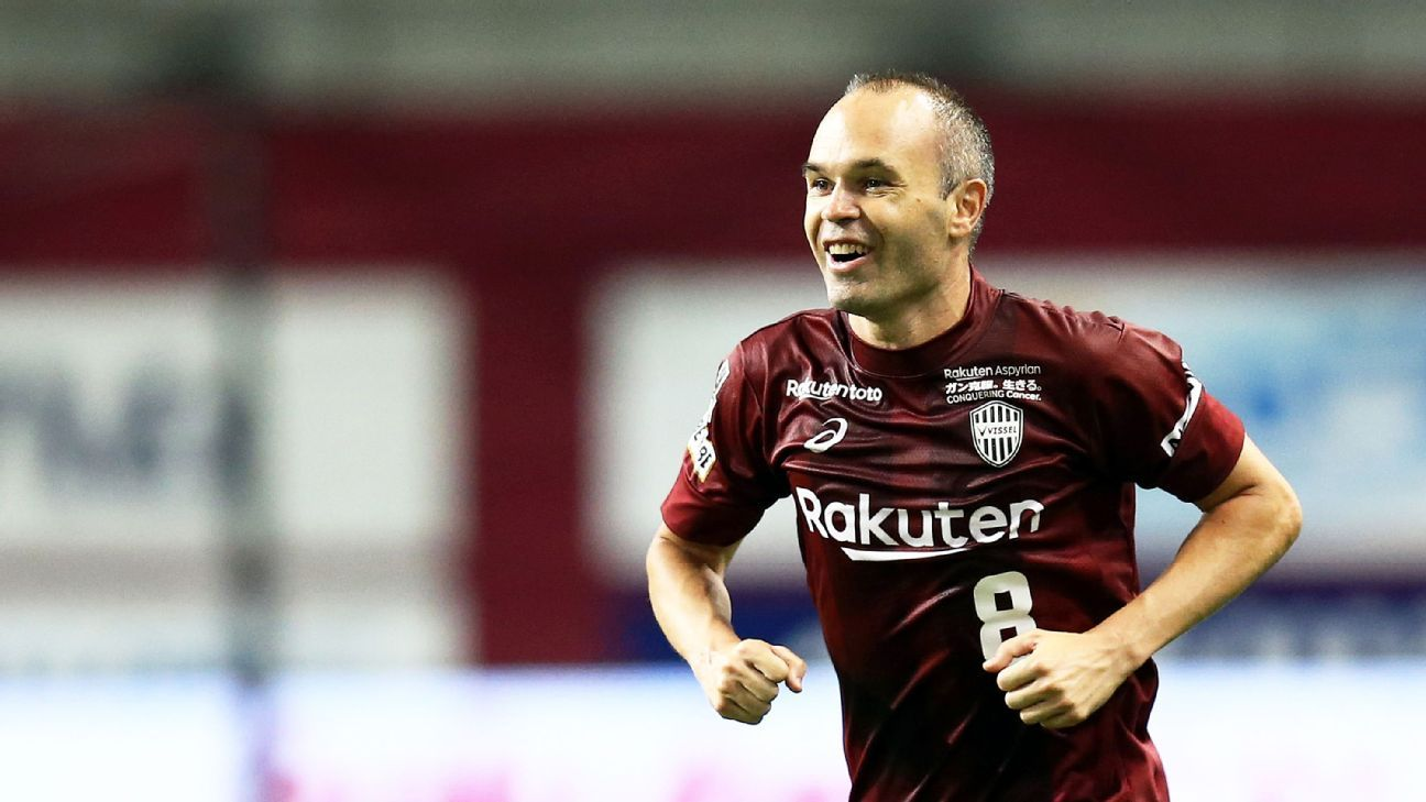 Andres Iniesta scores stylish first goal for Vissel Kobe in win