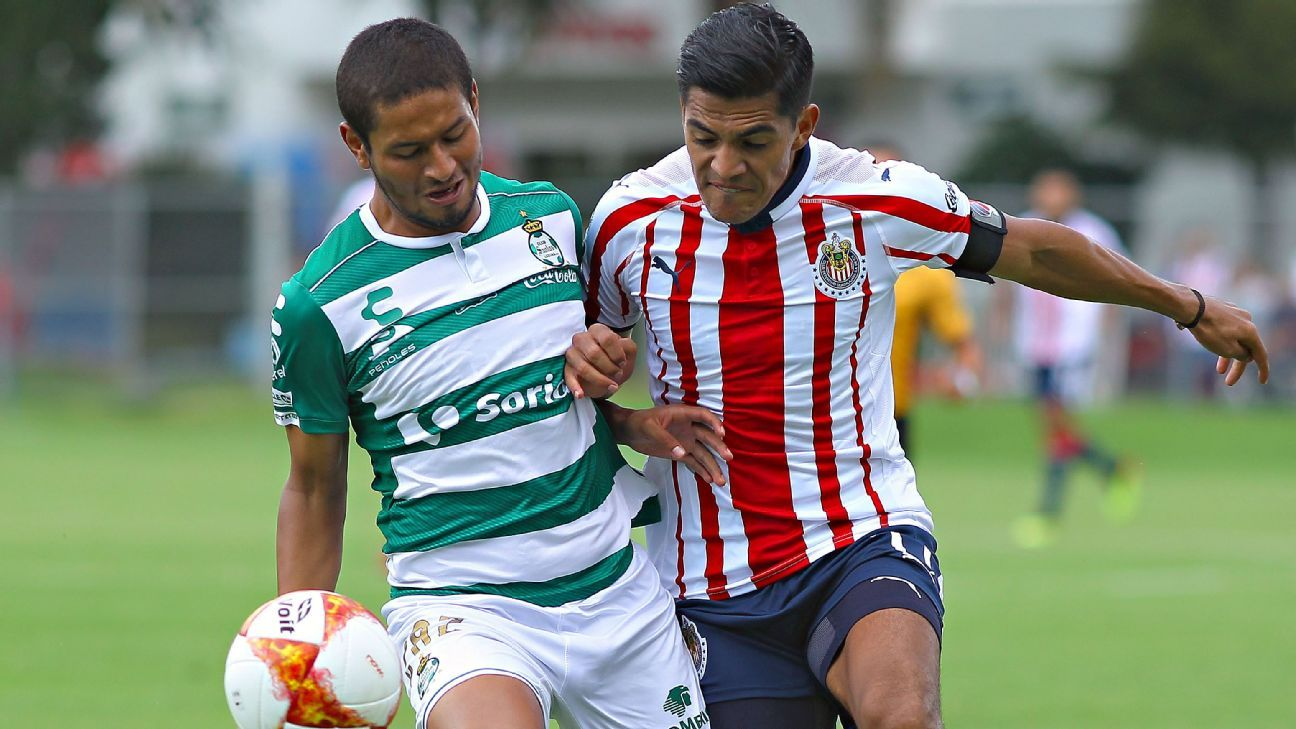 Jesús 'Chapo' Sánchez reappears with Sub20 of Chivas