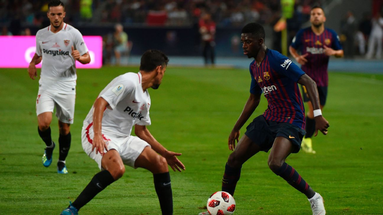 "Barcelona boss Ernesto Valverde wants Ousmane Dembele to stay ""miraculous"""