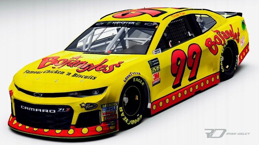Derrike Cope Will Drive The 99 At Darlington With A Throwback Scheme To His Bojangles
