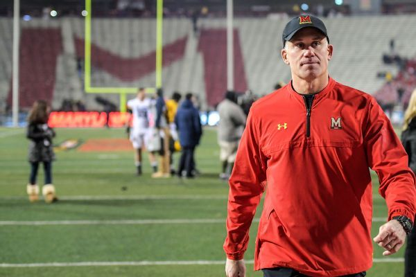 Report: Parents of Maryland players fearful DJ Durkin to be reinstated as coach