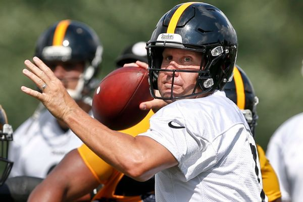 Ben Roethlisberger in concussion protocol after being hit in practice