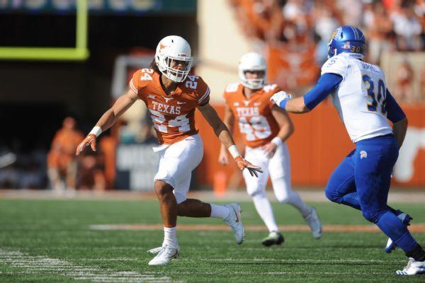 Ex-Texas DB John Bonney moves to Texas Tech, eligible this season