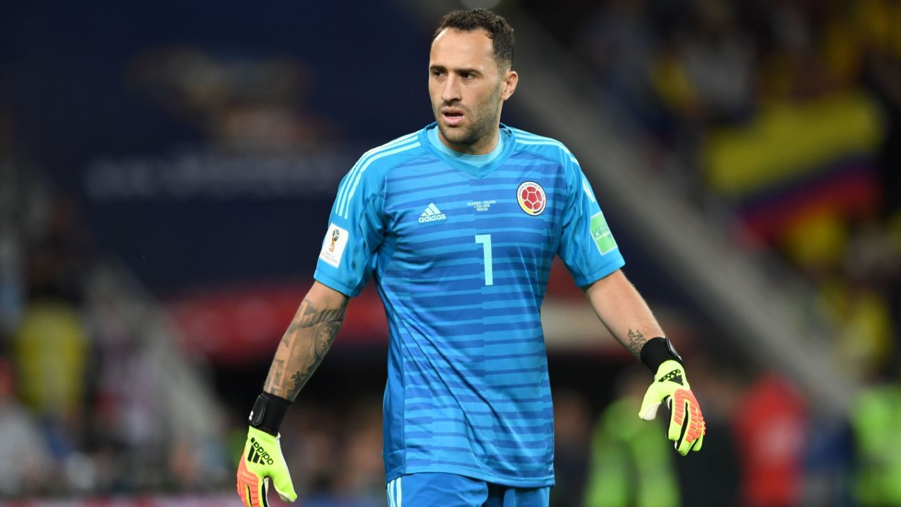 David Ospina joins Napoli on loan from Arsenal with option for permanent move