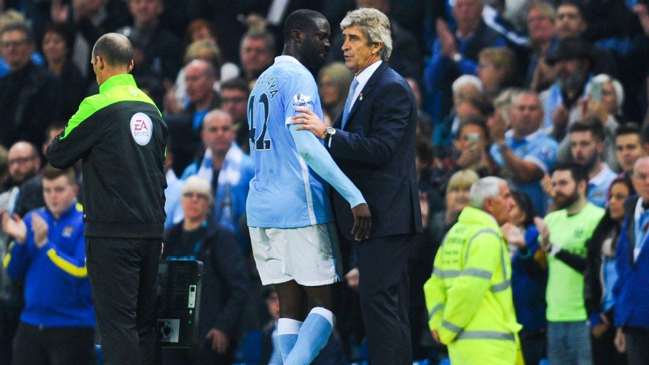 West Ham boss Manuel Pellegrini rules out signing Yaya Toure