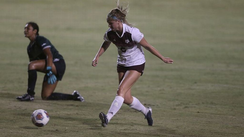No. 11 Texas A&M blanks Hawai'i 4-0