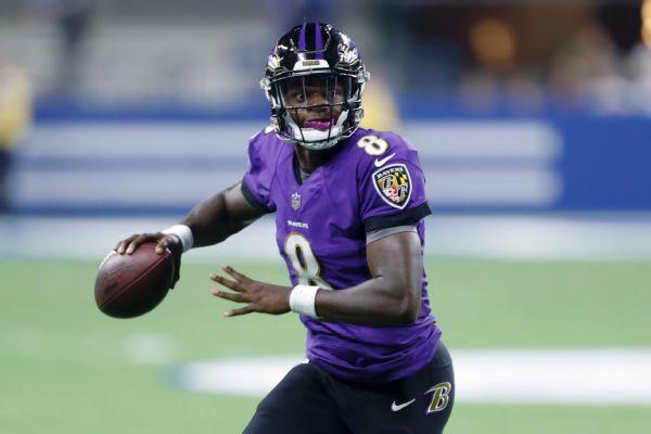 Ravens' Lamar Jackson: 'I don't feel like I've performed at a high level yet'