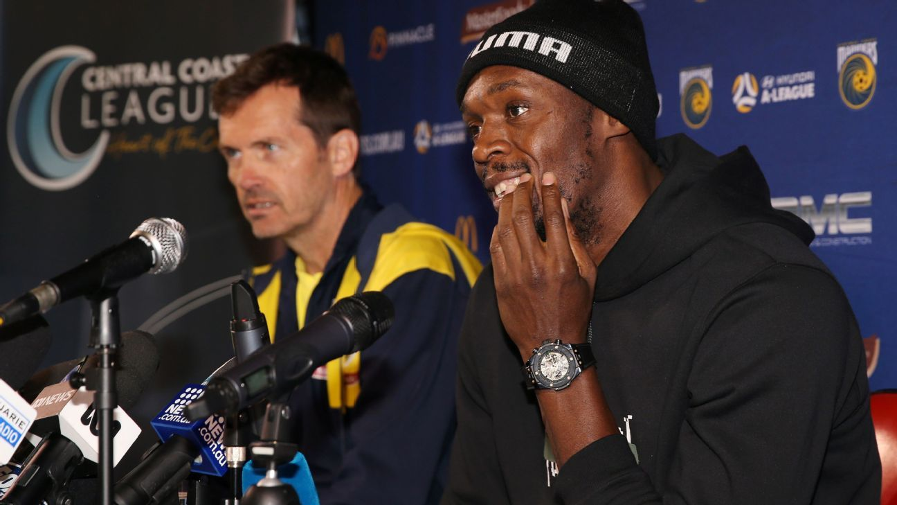 Usain Bolt en el Central Coast Mariners: No tendré un trato especial