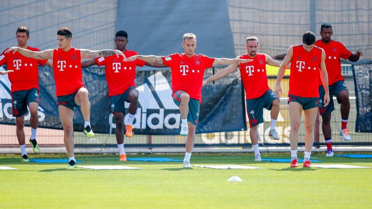 Con James, Bayern ultima detalles de cara al debut de la Bundesliga