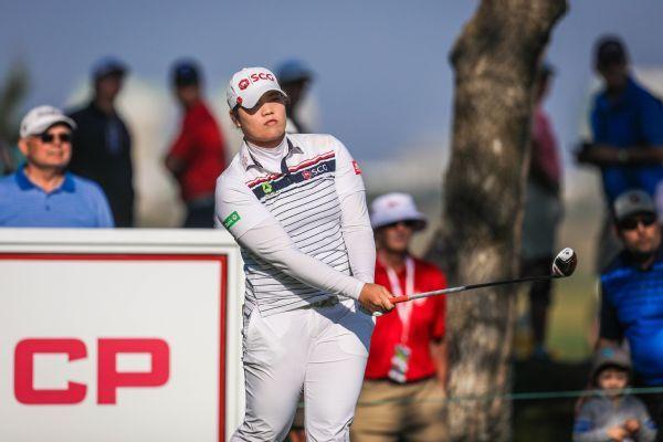 Ariya Jutanugarn takes 1-shot lead with 66 at LPGA Shanghai