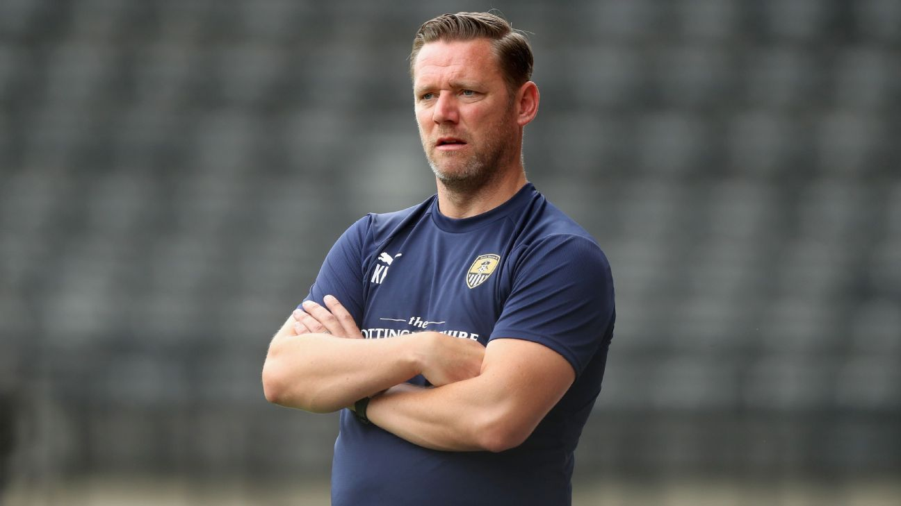 Kevin Nolan sacked as Notts County manager after four straight defeats