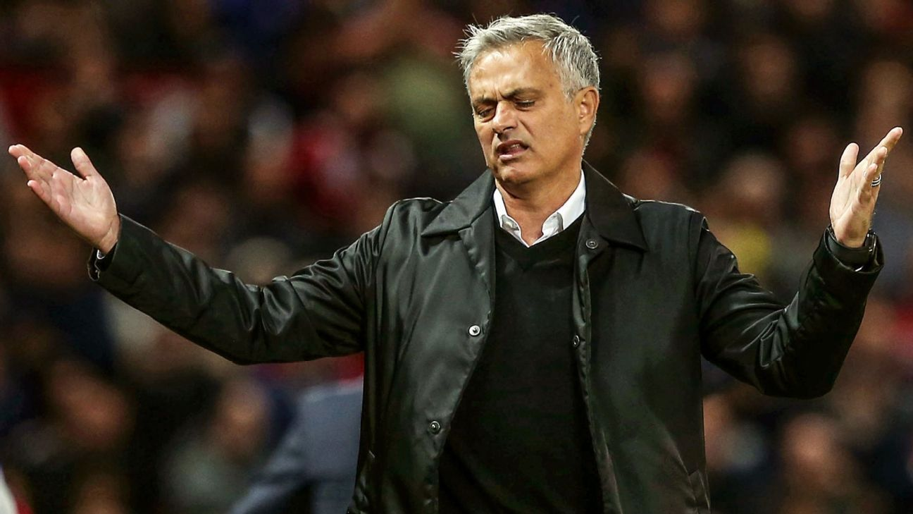 Manchester United's senior players 'angry and frustrated' with Jose Mourinho - sources