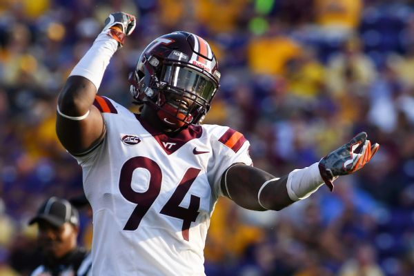 Trevon Hill dismissed from Virginia Tech football team