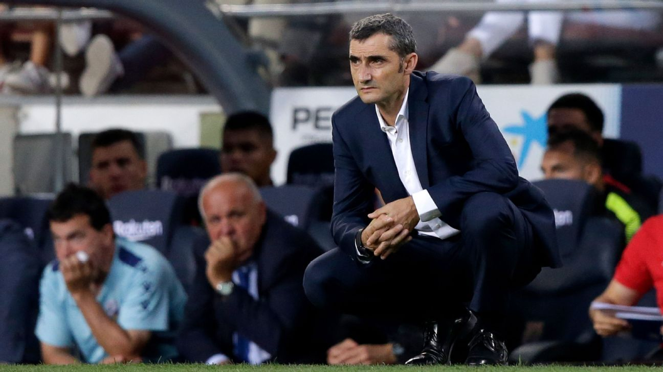 Barcelona's Ernesto Valverde: Too many awards turning football into 'show business'
