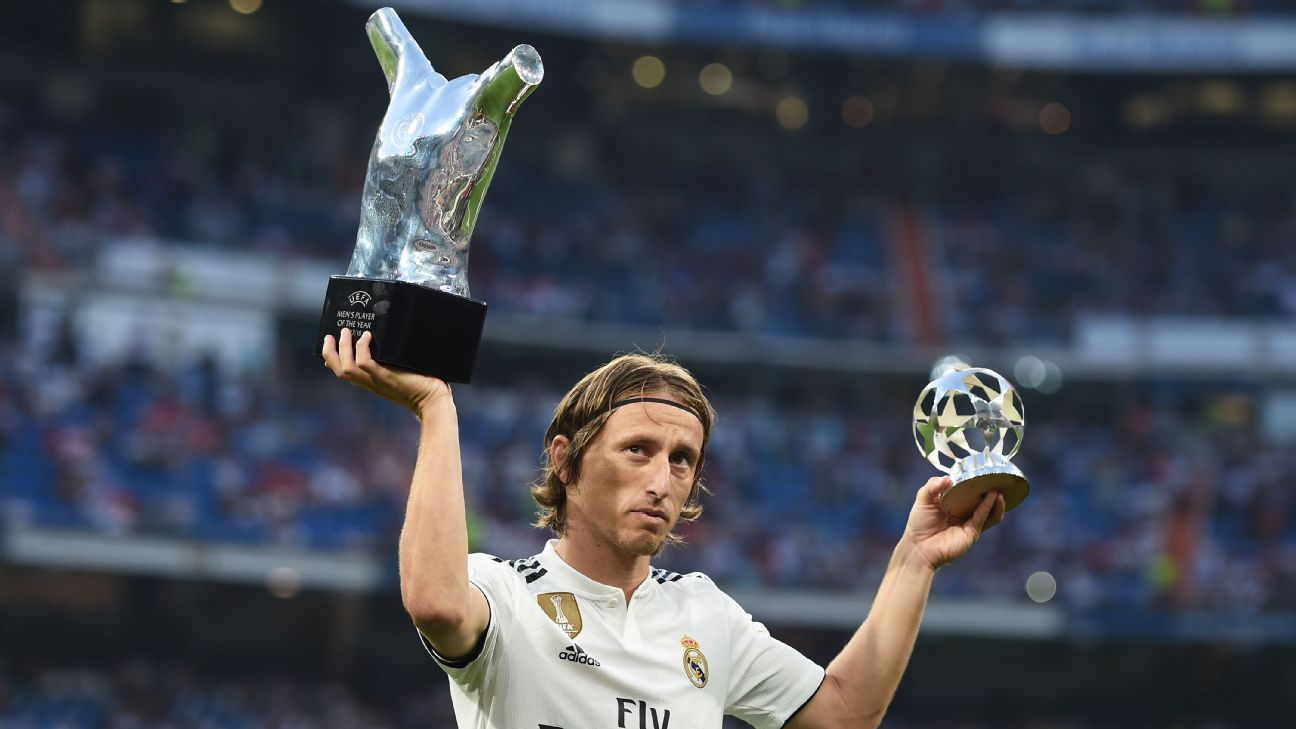 Luka Modric wins FIFA The Best award, ends Cristiano Ronaldo, Lionel Messi duopoly