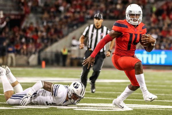 Wildcats QB Khalil Tate has ankle injury, out vs. UCLA