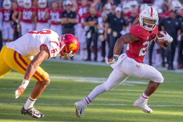 Stanford RB Bryce Love returning from injury for Oregon game