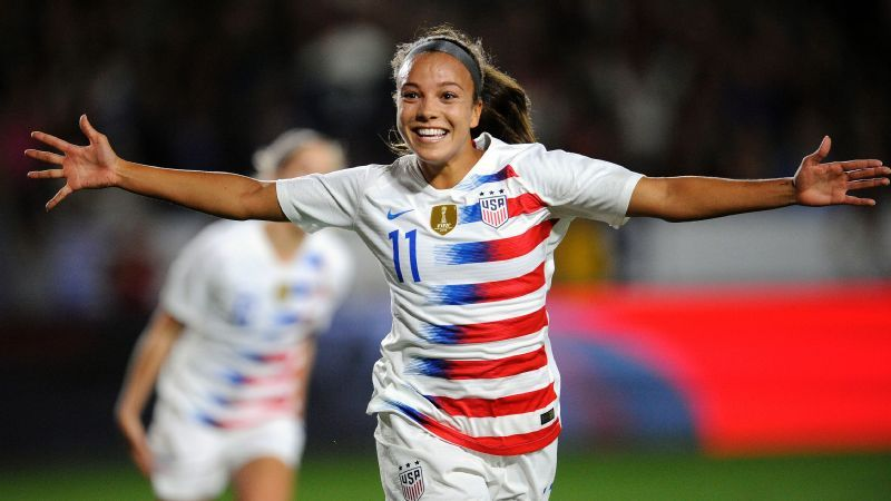 new styles 64ffc 25ea9 USWNT forward Mal Pugh has World Cup tunnel vision ahead of ...