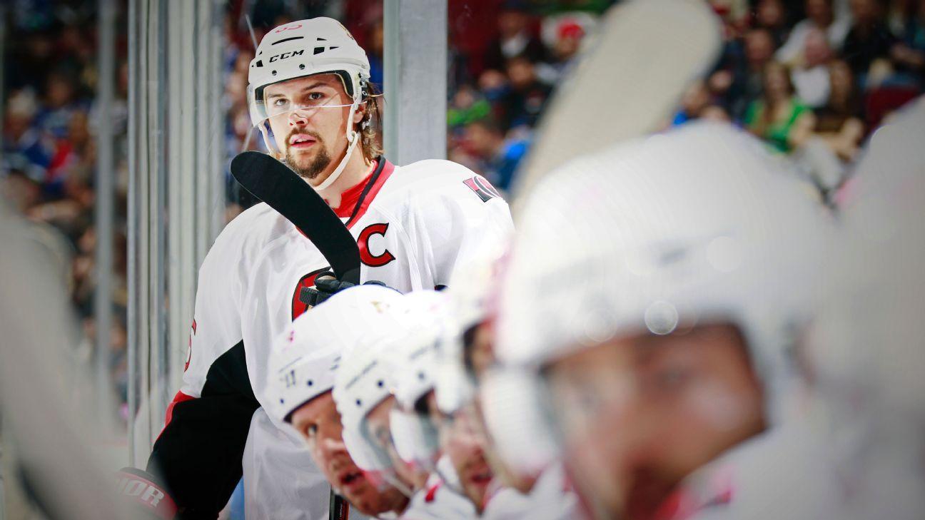 NHL: entenda como  o Ottawa Senators entrou em um inferno inescapável
