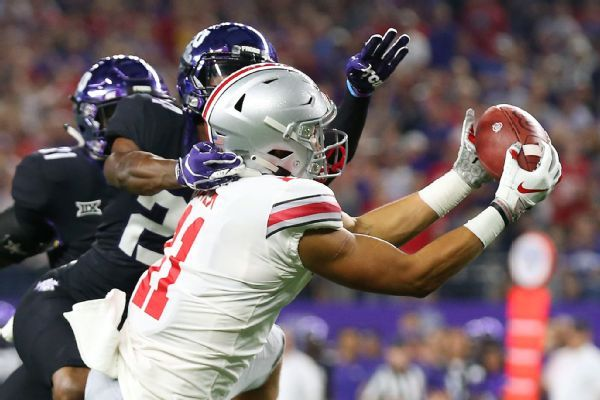 Buckeyes WR Austin Mack has foot surgery, out indefinitely