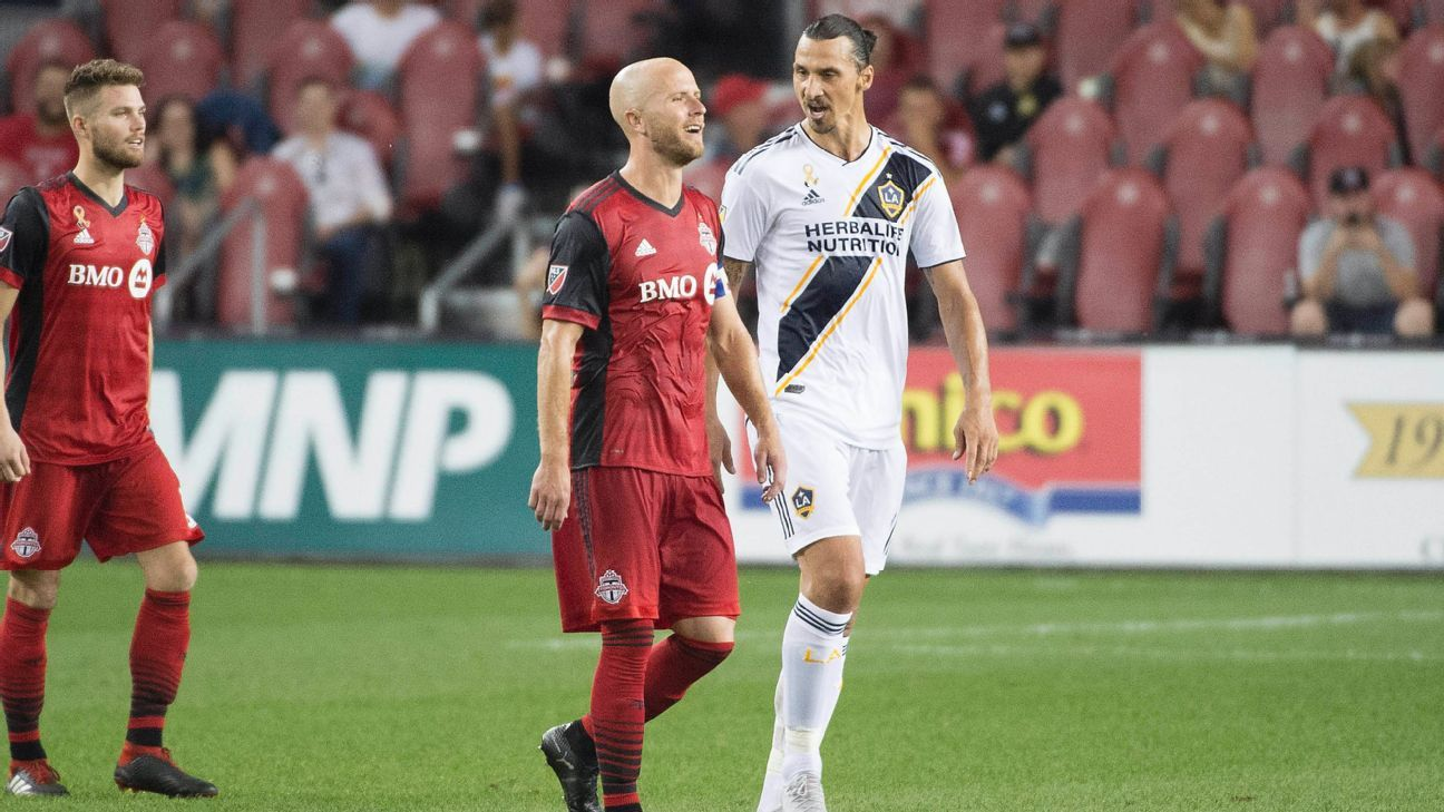 Michael Bradley on Zlatan Ibrahimovic confrontation: 'There wasn't much to it'